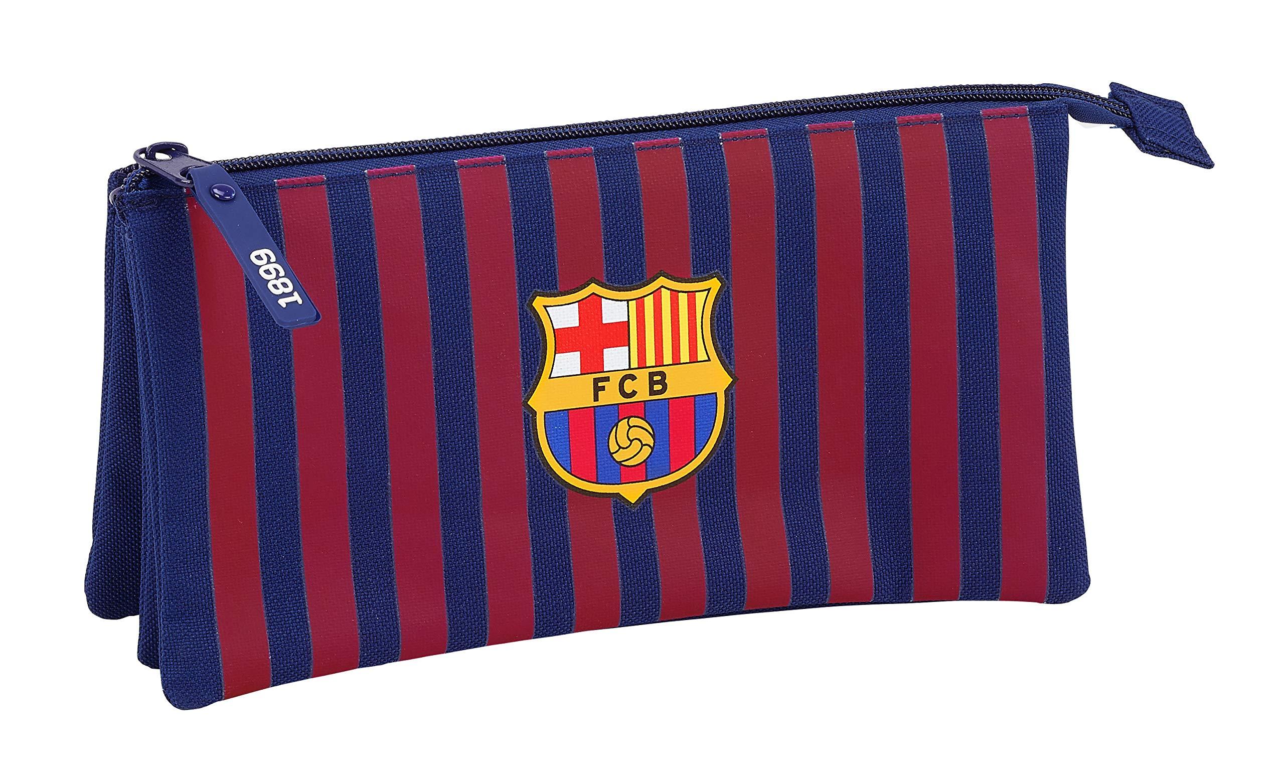 FC Barcelona 811829744 2018 Estuches 22 cm, Azul
