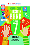 Oswaal NCERT & CBSE Question Bank Class 7, English (For 2021 Exam)