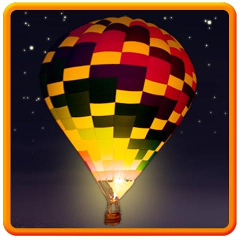 Night Glow Balloons Theme