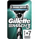 Gillette 81680535 Mach3 Rakapparat med 7 Rakblad