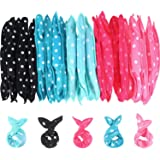 12 Pieces/Set Foam Hair Rollers DIY Pillow Cloth Hair Styling Rollers Tools Soft Sleep Foam Pillow Hair Curler Wand Rollers S