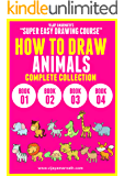 VIJAY AMARNATH'S SUPER EASY DRAWING COURSE - HOW TO DRAW ANIMALS – COMPLETE COLLECTION