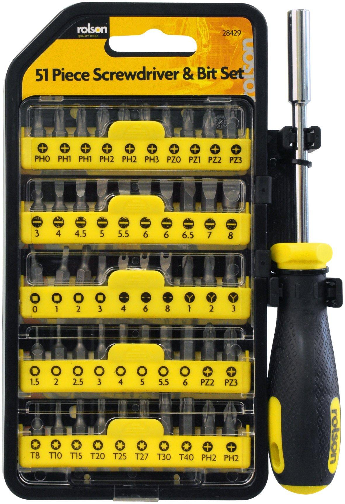 81sGy06tN8L - Dicoal - Maletín atornillador 51 piezas