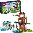 LEGO 41445 Friends L'AmbulancedelaCliniquevétérinaire, Set de Jeu de Sauvetage d'animaux avec Les Minidolls Olivia et Emm