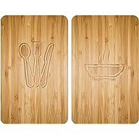 WENKO Protection plaque de cuisson, «Lunch», plaque de protection induction, gazinière, vitrocéramique, verre trempé…