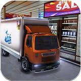Drive Thru supermercado transporte de carga camión simulador de conducción juego 2019: caja registradora centro comercial conductor de automóvil y operador de grúa de montacargas