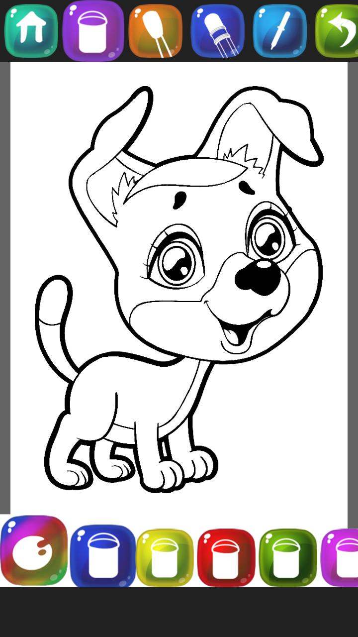 Cucciolo libro da colorare appstore per android - Cucciolo da colorare stampabili ...