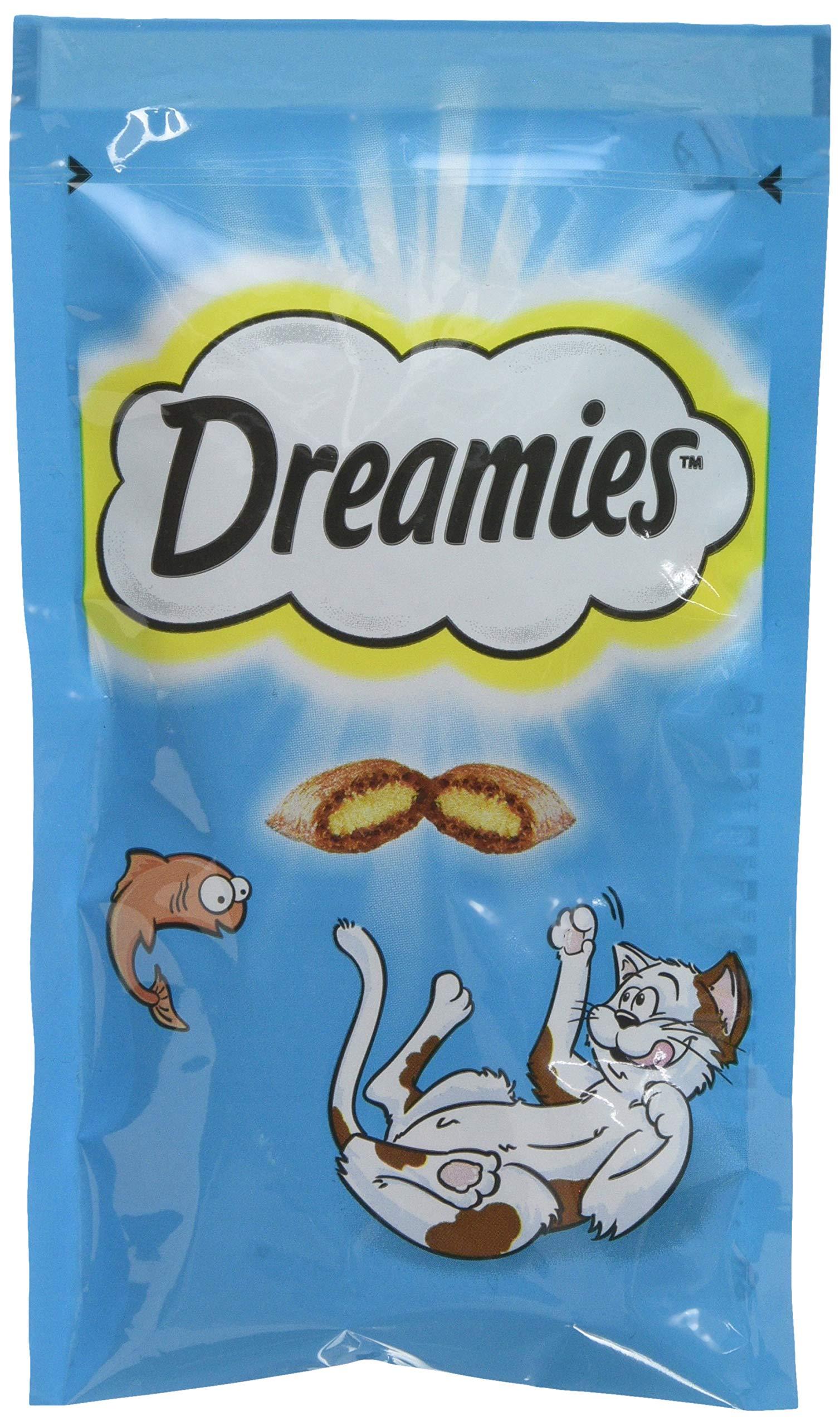Dreamies -Golosinas para gatos, sabor: Carne de vaca, 60 g (Pack of 8)