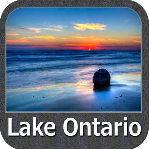 Lake Ontario Gps Map Navigator