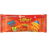 Sunfeast YiPPee! Magic Masala long, slurpy noodles   with real vegetables and nutrients   Six in One Pack, 420g Pack