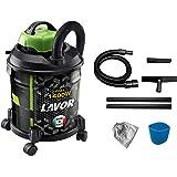 Lavor Aspirador de Polvo y lÍquido Joker 1400 S W, 20 litros, 75 Decibelios, Verde Y Negro