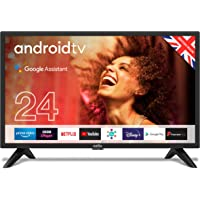 """Cello C2420G 24"""" Smart Android TV with Freeview Play, Google Assistant, Google Chromecast, 3 x…"""
