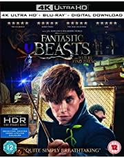 Fantastic Beasts and Where To Find Them (4K UHD + Blu-ray + Digital Download) (2-Disc Set) (Region Free + Fully Packaged Import)