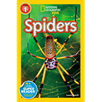 National Geographic Kids Readers: Spiders (National Geographic Kids Readers)