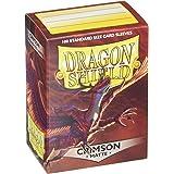 Arcane Tinmen APS art11021–Dragon Shield Matte: Crimson, 100Pezzi