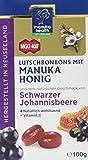 Manuka Health - MGO 400 + Schwarze Johannisbeere Lutschbonbons 100 g - 100% Pur aus Neuseeland mit zertifiziertem…