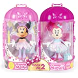 IMC Toys Pack de 2 Minnie Fashionista Kawaii Licorne & Fantasy Fée-186279-Disney, 186279