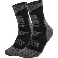 WELKANA Athletic Socks 2 Pairs, Men Women Basketball Socks Sports Socks, Wicking Breathable Cushion Anti Blister…