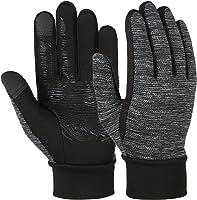 Vbiger Herren Touchscreen Handschuhe Laufhandschuhe Leicht Fahrhandschuhe SMS Handschuhe für Frühling Herbst Winter