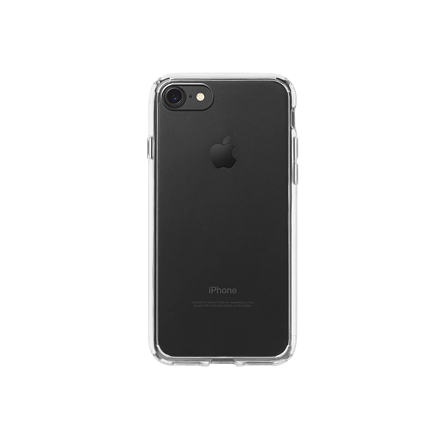 apple phone case. amazonbasics mobile case for apple iphone 7 (clear): amazon.in: electronics phone