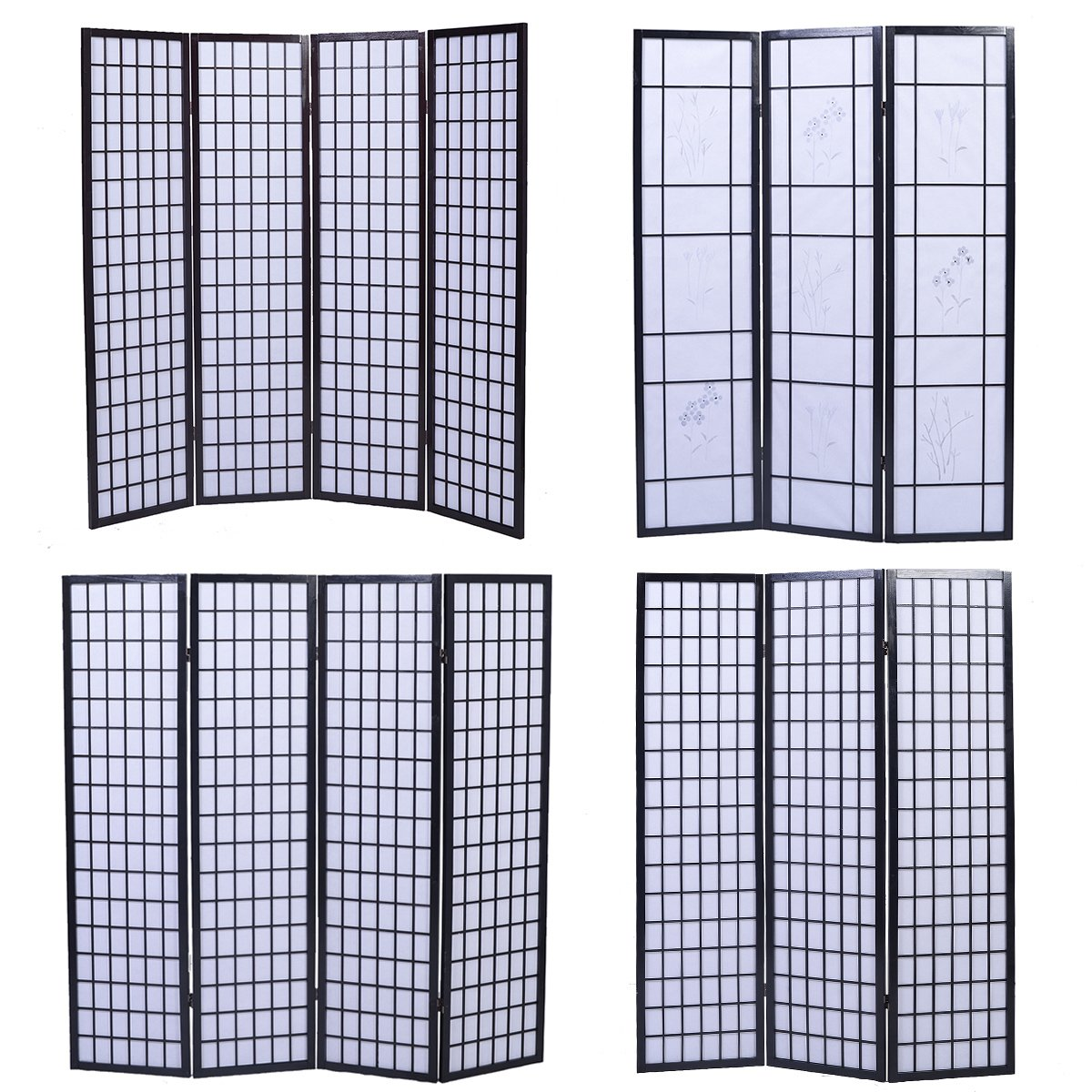 Stupendous Casart Folding Room Divider Screen 3 4 Partition Wall Panel Privacy Furniture Separator Paravent Best Bedroom Panel Screens Download Free Architecture Designs Scobabritishbridgeorg