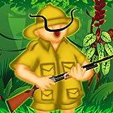 tigre safaris de caza del bosque - el ahorro de animales lindos cazador divertido - edición gratuita