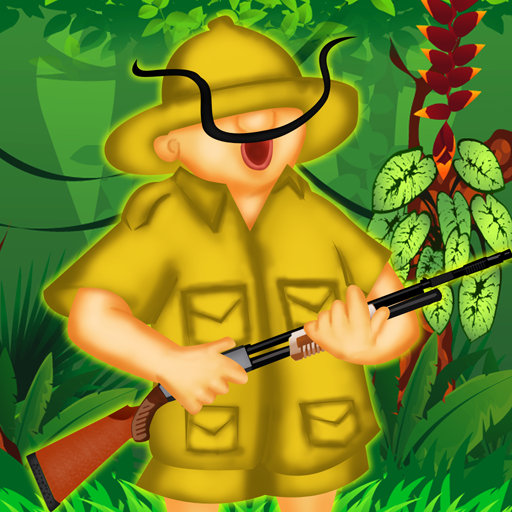 Wald-Safari Tigerjagd - der lustige Jäger Spar niedlichen Tiere - Gratis-Edition (Super Lustige Safari)