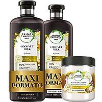 Herbal Essences Latte di Cocco: Shampoo 400 ml + Balsamo, 360 ml + Maschera 250 ml, Idratante, in Collaborazione con…
