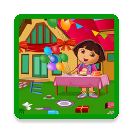 Doras Bedrooms Cleanup Game