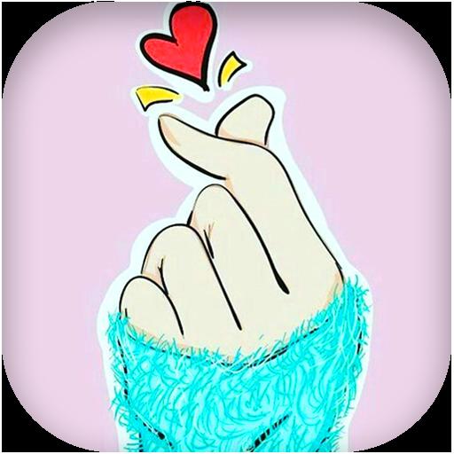 Finger Heart Wallpaper: Kpop Things <3