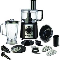 Bajaj FX9 700-Watt Mini Food Processor (Black/Silver)