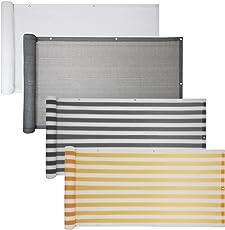 Balkon Sichtschutz Verschiedene Modelle / Balkonbespannung  Balkonsichtschutz Balkonverkleidung 6 Meter