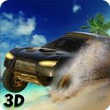 Miami beach car stunt Antriebs 3D