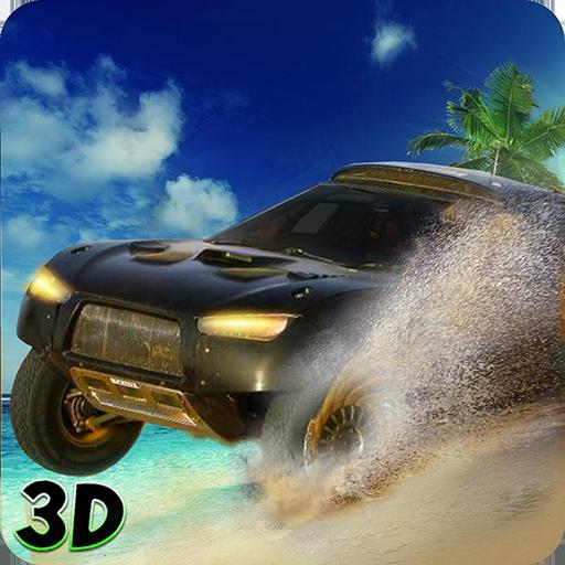 Miami beach car stunt Antriebs 3D (Spiel Jersey)