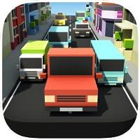 Block Pixel Traffic Racer : High Voltage Endless Crossy Road Highway Racing