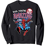 Marvel Spider-Man Amazing Dad Father's Day Sweatshirt