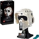 LEGO 75305 Star Wars Scout Trooper Helm, Weergavemodel voor Volwassenen met Displaystandaard, Perfect Cadeauidee voor Fans