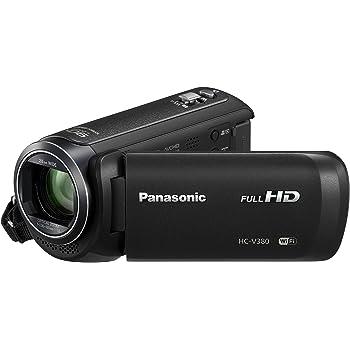 Panasonic HC-V380 Camescopes Classique 1080 Pixels Zoom Optique 50 x 2.51 Mpix