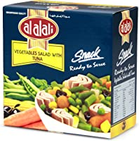 Al Alali Snack Tuna Salad With Vegetable, 185 g