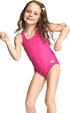 Zoggs Swimming Costume For Girls (Tots Bellambie Actionback 20)