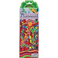 eeBoo - 6 crayons de couleurs fluo - Hibou