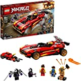 LEGO 71737 Ninjago LeChargeurNinjaX-1 Jouet Automobile et Moto avec Figurine de Cole Golden