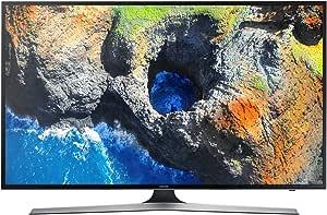 """Samsung UE50MU6172U Smart TV 50"""" 4K Ultra HD, Wi-Fi, noir, téléviseur LED de 127cm, 3840x 2160pixels"""