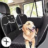 Pecute Coprisedile per Cani Posteriore Universale per Sedile dell'Auto per Animali Domestici Impermeabile Spesso Resistente c