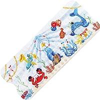 TONIAMO® *NEU* Badewannenmatte für Kinder   extra Lange Antirutschmatte 100x40cm in liebevollem Aquarell-Design…