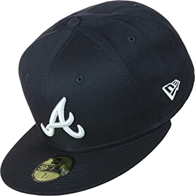 80fbc937 ... new zealand new era men caps fitted cap league essential atlanta braves  59fifty amazon clothing ef9cf