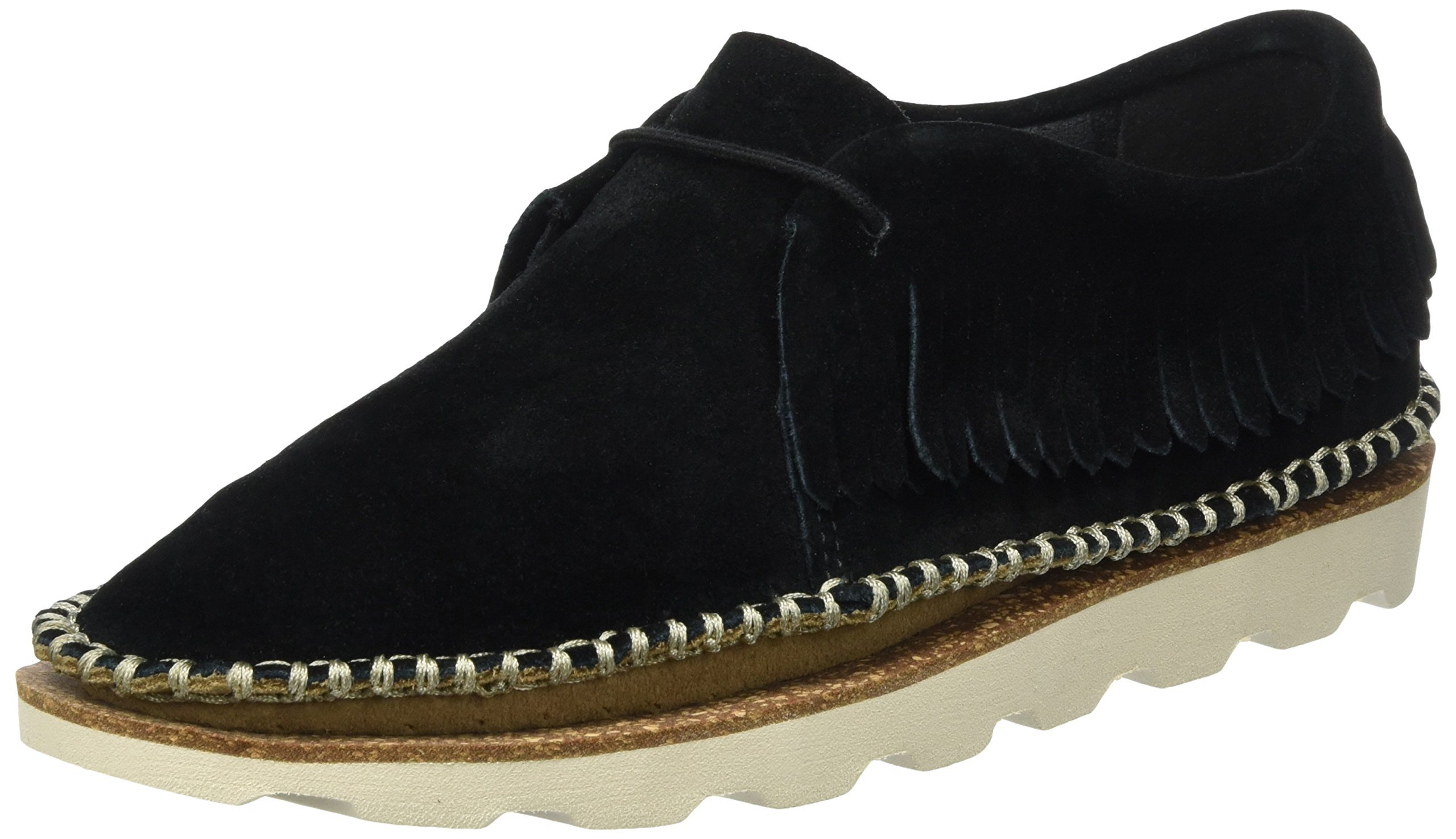 Clarks Women's Damara Thrill Leather Loafers and Moccasins