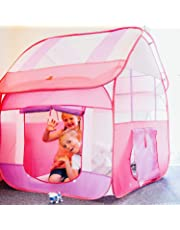 Toyshine Foldable Kids Children's Indoor Outdoor Pop Up Play Tent House Toy (Assorted Color)