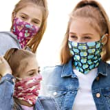 ALB Stoffe® ProtectMe Kids - Mix No. 2, paquete de 3 mascarillas de protección para la boca, antimicrobianas, 100% hechas en