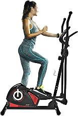 Sportstech CX608 Crosstrainer mit Smartphone App & Bluetooth Konsole, Pulsgurt kompatibler Ellipsentrainer mit Tablet-Halterung - Ergometer, 12 Kg Schwungmasse, Heimtrainer mit 3 teiligem Kurbelsystem